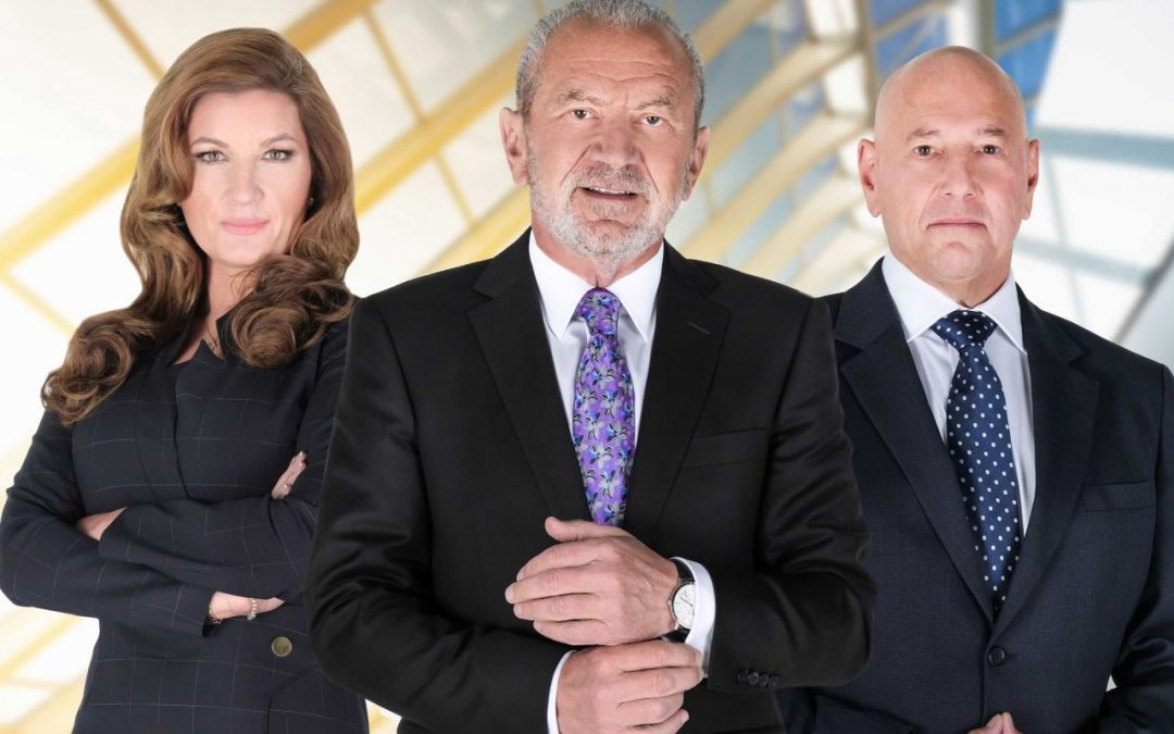The Apprentice: – it's a bunch of 5 year olds running around!