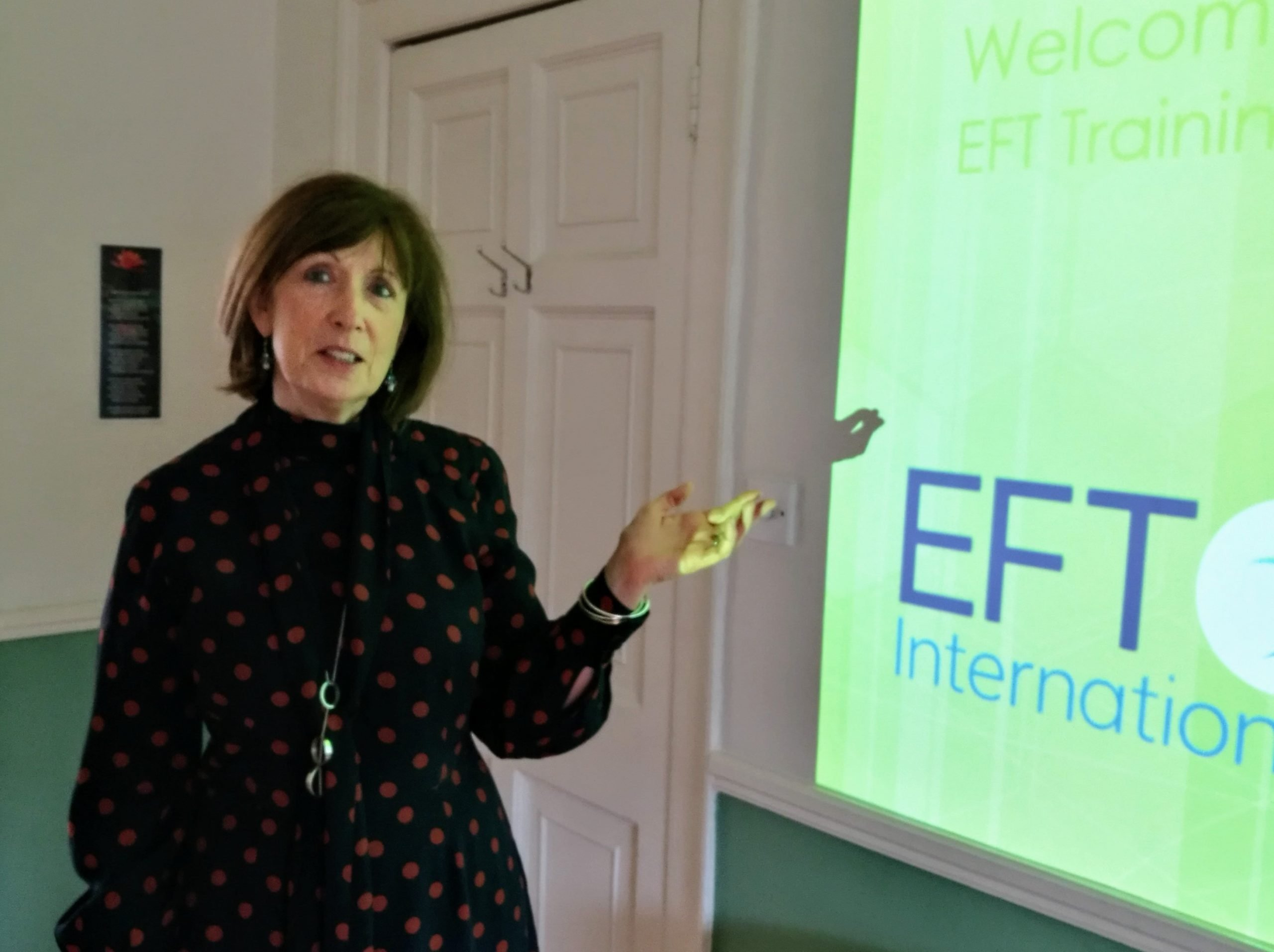 Grainne O'Neill Talks About EFT Tapping